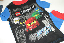 Lego Ninjago S/S Masters of Spinjitsu Lloyd Kai Jay Cole Zane 2pc Pajamas Set 8