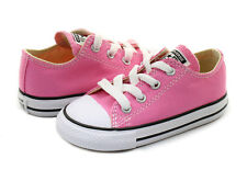 Converse All Star Ox Pink White Infant Toddler Boys Girls Shoes Size 2-10