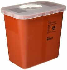 COVIDIEN SharpSafety Biohazard Bin Phlebotomy Sharps Containers 1qt 4qt or 8qt