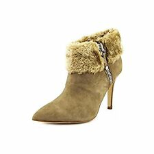Marc Fisher Cahoot 2 Faux Suede Ankle Boot, Taupe Suede