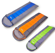 Wide Outdoor Adults Camping Tavel Nap Envelope Sleeping Bag Spring Autumn Winter