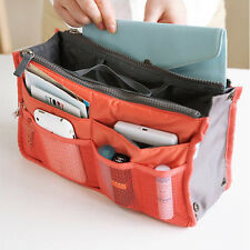 Zippered Travel Storage Bag Handbag Insert Housekeeping Cosmetic Makeup Bag New