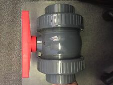 Apex CPVC Schedule 80 True Union industrial ball valve high pressure, 4""