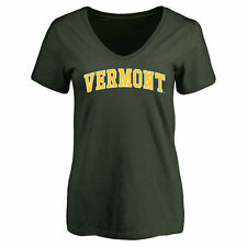 Vermont Catamounts Women's Everyday Slim Fit T-Shirt - Green - College