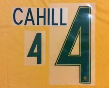 AUSTRALIA SOCCEROOS 2016/2017 OFFICIAL NAME & NUMBER SET FOR HOME JERSEY SHIRT