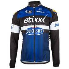 Vermarc Adults Etixx Quick-step Long Sleeve Cycle Cycling Road Bike Team Jersey