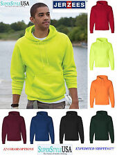 JERZEES NuBlend SUPER SWEATS Hooded Sweatshirt 4997MR Hoodie 4997 - New on SALE!