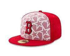 Boston Red Sox New Era 2016 White/Red Stars & Stripes 59FIFTY Fitted Hat