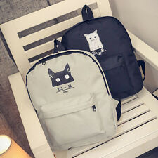 casual canvas school backpack girl backpacks small bag Mori fashion women bags