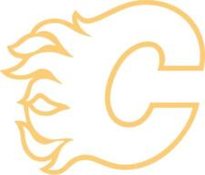 Calgary Flames cornhole board decal 1 set (2 decals)...