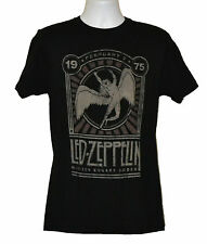 Led Zeppelin T-shirt Legendary Classic Rock Band Graphic Tee Black Preshrunk NWT