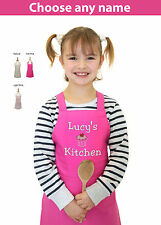 Personalised with Name Embroidered Children's cooking Apron Cupcake Bake Off