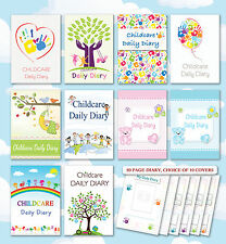 Childcare Daily Diary, Childminders, Nursery, EYFS, Early Years Diaries/Log Book