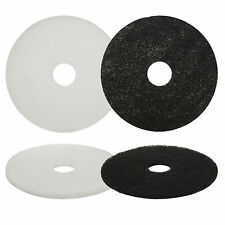 """Floor Cleaning Pads Buffer Polishing Pads Tiles Clean Dry 5 Pack Large 17"""" NEW"""