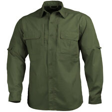 Pentagon Tactical Shirt Tactical Military Long Sleeve Casual Uniform Olive Green