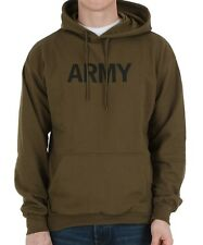 Olive Drab Army Hooded Sweatshirt