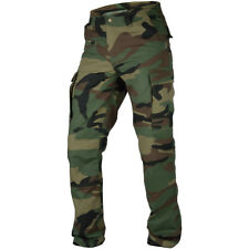 Pentagon BDU 2.0 Pants Tactical Army Hunting Ripstop Mens Trousers Woodland Camo
