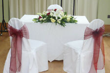 25 Polyester Round or square top Banquet Chair Covers Wedding Party Decorations