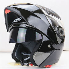 7 Color DOT Dual Visor Flip Up Motorcycle Helmet Full Face Street Bike Full Face