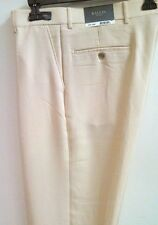BALLIN Relax Tencel Poly Blend Cavalry Twill Flat-front Casual Trouser $165 NWT