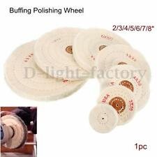"2-8"" Polishing Buffing Wheel Mop Pad For Polisher Buffer Bench Grinder Tool"
