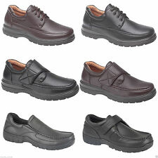 NEW MENS SMART OFFICE EXTRA COMFORT SHOES WORK FORMAL CASUAL DRESS SHOE SIZE