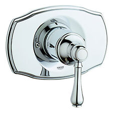 Grohe Geneva Pressure Balance Shower Faucet Trim with Lever Handle