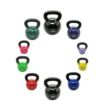 24KG VINYL IRON IRON CAST KETTLEBELL WEIGHT SET - RUSSIAN STYLE KETTLE WEIGHTS