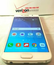 Unlocked Samsung Galaxy S6 - 32GB - White No Contract Verizon Prepaid Phone