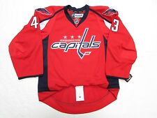 TOM WILSON WASHINGTON CAPITALS AUTHENTIC HOME REEBOK EDGE 2.0 7287 HOCKEY JERSEY
