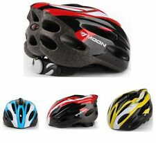 New Mens Adult Helmet Bike Bicycle Cycling carbon Red color With Visor Mountain