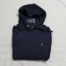 Polo Ralph Lauren men navy blue Performance fleece hoodie sweatshirt size S