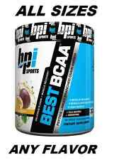 Bpi BEST BCAA Amino Acid 60 and 30 Serving & Trial Size - 10 Flavors - FAST SHIP