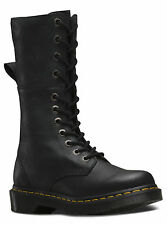 New in the box Dr Martens docs HAZIL VIRGINIA BLACK  soft leather boots