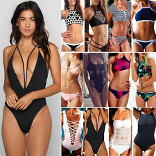 Popular Bikini Sexy Women's Push-up Bandage Swimsuit Swimwear Monokini Bathing F