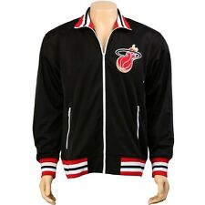 Mitchell And Ness Miami Heat NBA Preseason Warm Up Track Jacket (black) 6025A-31
