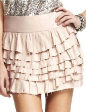 $59.90 EXPRESS Flouncy Multi-Tiered Mini Skirt size 2