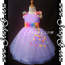 #RBP6 Baby Infant Flower Girl Wedding Summer Sun Dresses