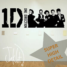 ONE DIRECTION LOGO, BAND - HIGH DETAIL! Vinyl Wall Sticker, Decal 1D