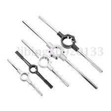 Die Stock Holder Thread Tap Wrench Round Handle Bar Tools 25mm 38mm 45mm 50mm