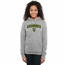 Vermont Catamounts Women's Proud Mascot Pullover Hoodie - Ash - College