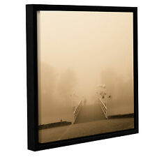 ArtWall 'Lost in Fog' by Joanna Pechmann Framed Photographic Print on Canvas