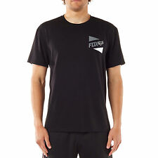 Fox Racing Men's Lit Up Short Sleeve Tech Tee Black Motocross Logo T-shirt