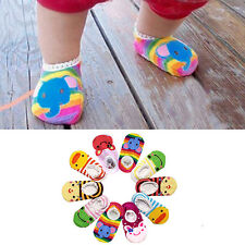 6-24 Month Baby Kids Toddler Socks Shoes Cute Cartoon Girl Boy Anti-Slip Slipper