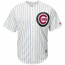 Chicago Cubs Majestic Fashion Stars & Stripes Cool Base Jersey - White - MLB