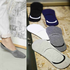 1 Pairs Loafer  Non-Slip Casual  Men  Invisible  Cotton  Low Cut No Show Socks