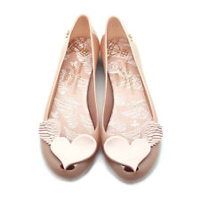 NEW VIVIENNE WESTWOOD ANGLOMANIA X MELISSA Pink ULTRAGIRL XVI Angel Jelly Flats