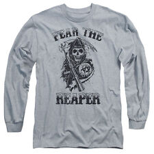 Sons Of Anarchy Fear The Reaper Mens Long Sleeve Shirt