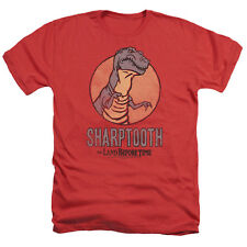 Land Before Time Sharptooth Mens Heather Shirt