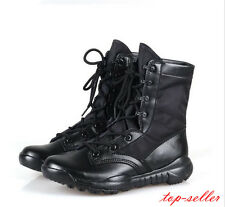 Hot Army Tactical Comfort Hi Top Combat Military Ankle Boots Men's Army Shoes